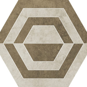Obklad Scratch Beige Hexagon A