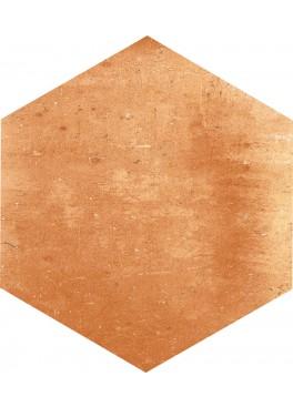 Dlažba Flamenco Red Natural Hexagon 28×33