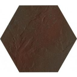 Dlažba Hexagon Semir Klinker Brown 26x26