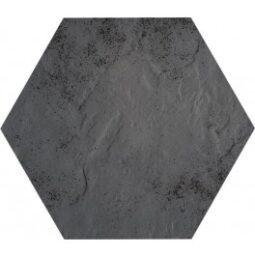 Dlažba Hexagon Semir Klinker Grafit 26x26