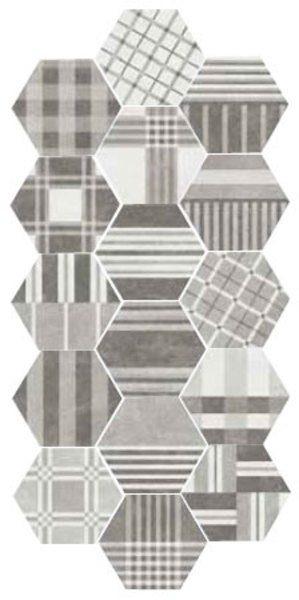 Hexagon Cement Geo Grey