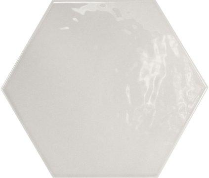 Hexagon brillo Gris Claro