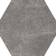 Hexatile Cement Black 17,5×20