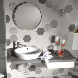 Koupelna Hexatile Cement
