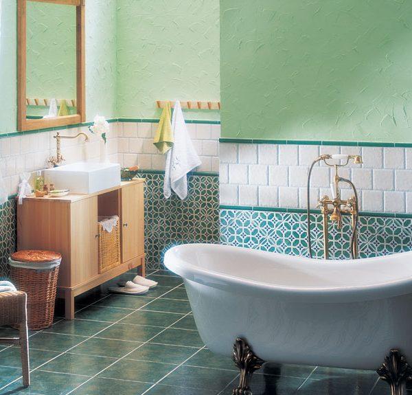 majolika koupelna