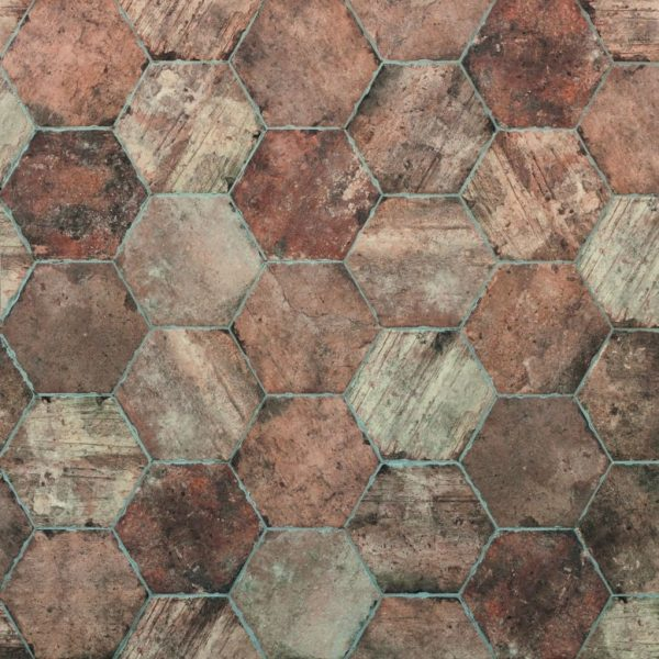 Brick America Street Hexagon