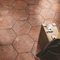Country Brick America Old Hexagon instalace