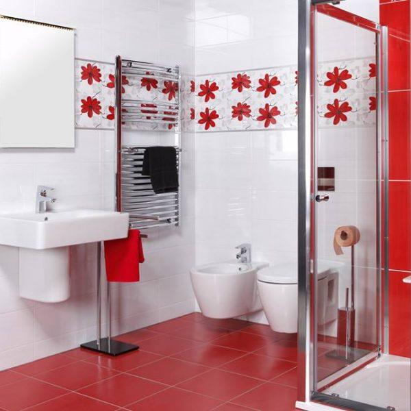 Koupelna Fresh Červená 1