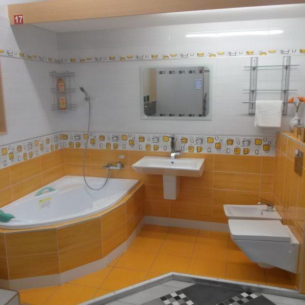 Koupelna Fresh Oranžová 1