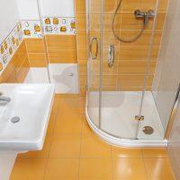 Koupelna Fresh Oranžová