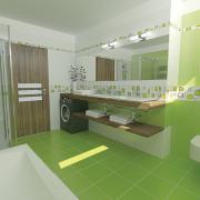 Koupelna Fresh Zelená