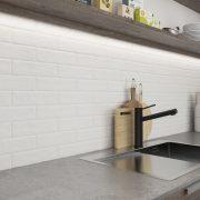 Obkladový Pásek Scandiano Bianco Kuchyně