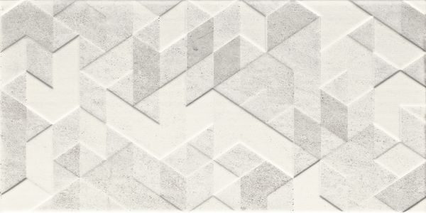 Dekor Emilly Grys Struktura 30×60