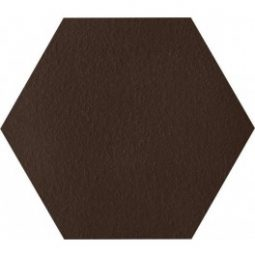 Dlažba Klinker Natural Brown Duro Heksagon 26x26