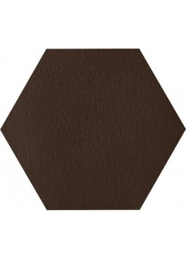 Dlažba Klinker Natural Brown Duro Heksagon 26×26
