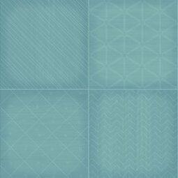 Dekor Grany Turquoise 25x75