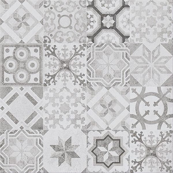 Dlažba Concrete Style Patchwork 42×42