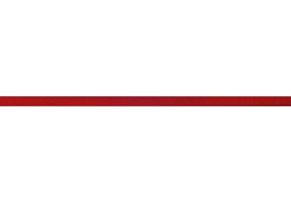 Listela Skleněná červená 2×60