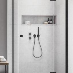 Sprchový kout Essenza Black KDJ