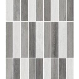 Dekor Mozaika Mario Grey 25x40