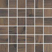 Dlažba Mozaika Tonella Brown Rektifikovaná 29,7×29,7