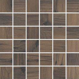 Dlažba Mozaika Tonella Brown Rektifikovaná 29,7x29,7