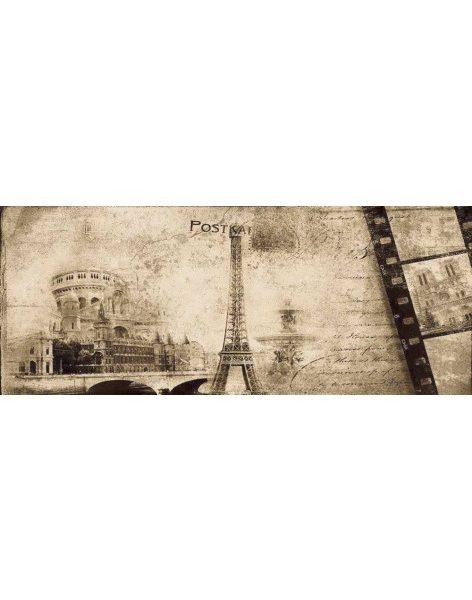 Dekor Treviso Cream Post Card Beige 2 20×50