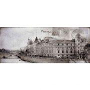 Dekor Treviso Grey Post Card Grey 1 20×50