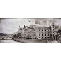 Dekor Treviso Grey Post Card Grey 1 20x50