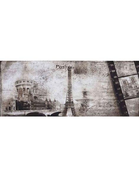 Dekor Treviso Grey Post Card Grey 2 20×50