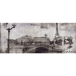 Dekor Treviso Grey Post Card Grey 20x50