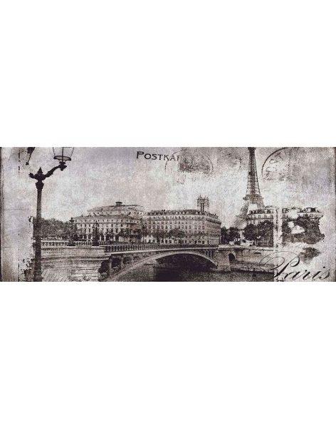 Dekor Treviso Grey Post Card Grey 20×50