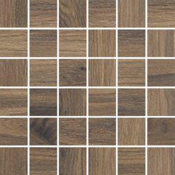 Dlažba Acero Marrone Mozaika 29,7x29,7 Rektifikovaná