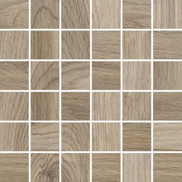 Dlažba Acero Sabbia Mozaika 29,7×29,7 Rektifikovaná