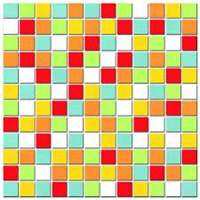 Mozaika mix 30x30 Happy