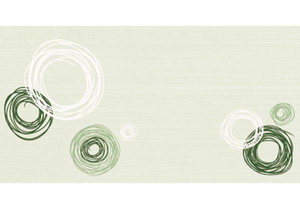 dekor Atelier sv. zelená inserto 20×40