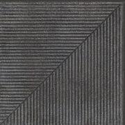 Dlažba Bazalto Grafit Schodovka rohová 30×30