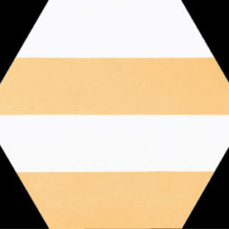 Dlažba Porto Capri Yellow Hex.22x25