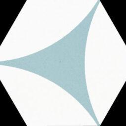 Dlažba Porto Venere Agua Hex.22x25