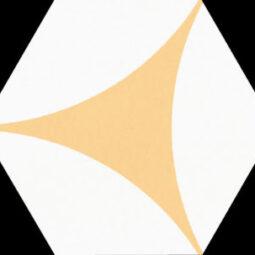 Dlažba Porto Venere Yellow Hex.22x25