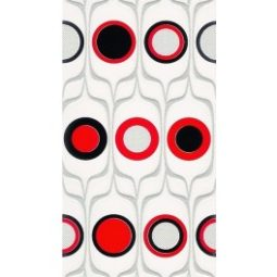 Dekor Domenico Red Circles 20x50
