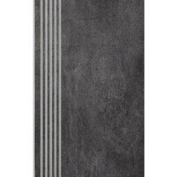 Schodovka Taranto Grafit Rektifikovaná 30x60