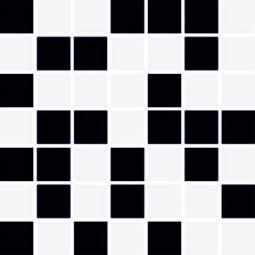Mozaika Feel black mix 20x20