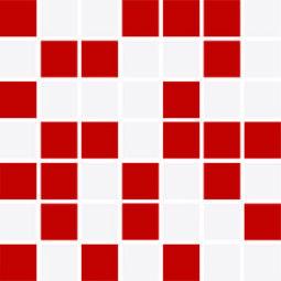 Mozaika Feel red mix 20x20