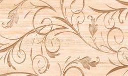 Dekor Malaga floral 25x50