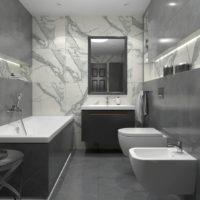 Dlažba Specchio Carrara pol3