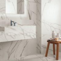 Dlažba Specchio Carrara sat2