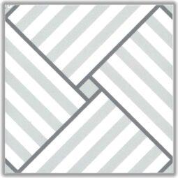 Dlažba Petit louis dek.15x15
