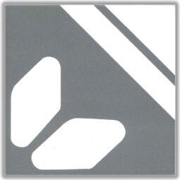 Dlažba Petit renee gris dek.15x15