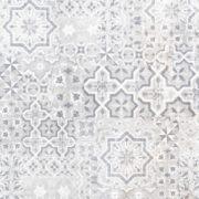 Dlažba Vintage light grey dekor 40×40